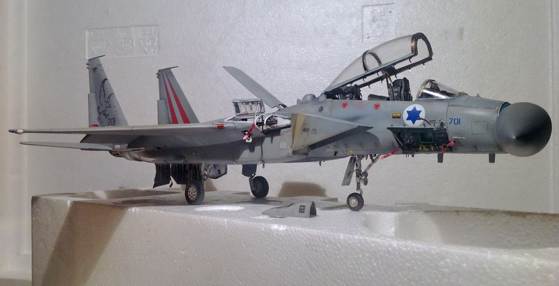 Boeing  F-15Ds  Israeli Air Force - G.W.H. kit 1/48 scale model IMG_4087m