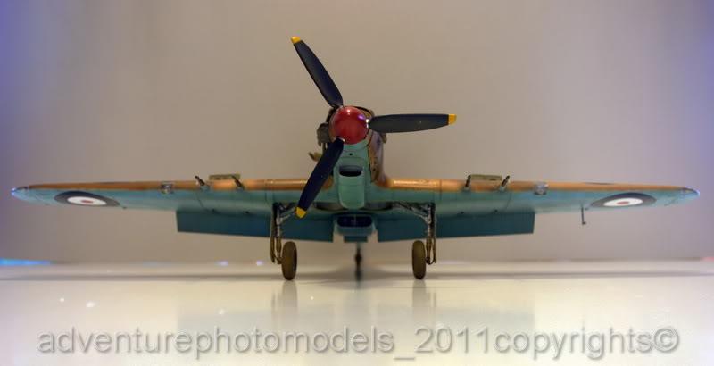 Hawker Hurricane MkII/c Trop - Trumpeter scale 1:24 IMG_8211