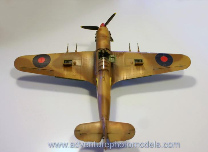 Hawker Hurricane MkII/c Trop - Trumpeter scale 1:24 IMG_8214