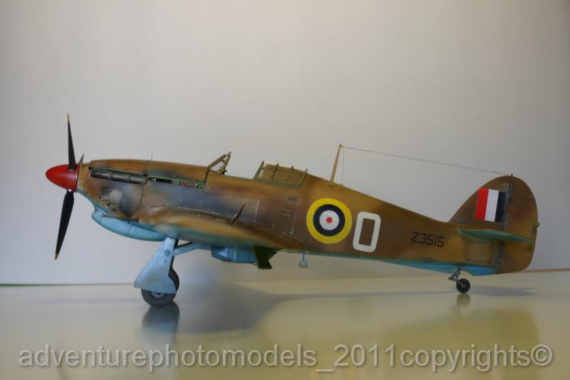 Hawker Hurricane MkII/c Trop - Trumpeter scale 1:24 IMG_8228