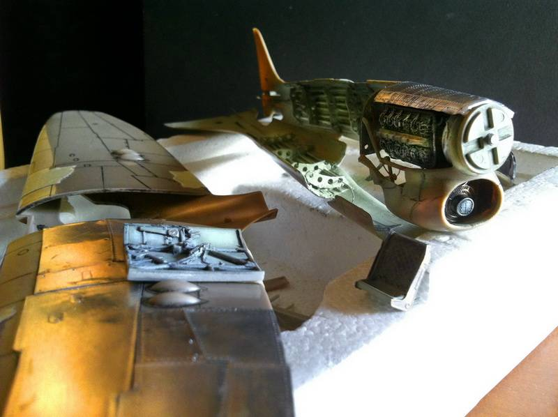 Project Tempest : Hawker Tempest MkV - Eduard modelkit scale 1:48 IMG_5612