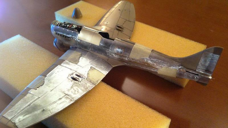 Project Tempest : Hawker Tempest MkV - Eduard modelkit scale 1:48 IMG_5765