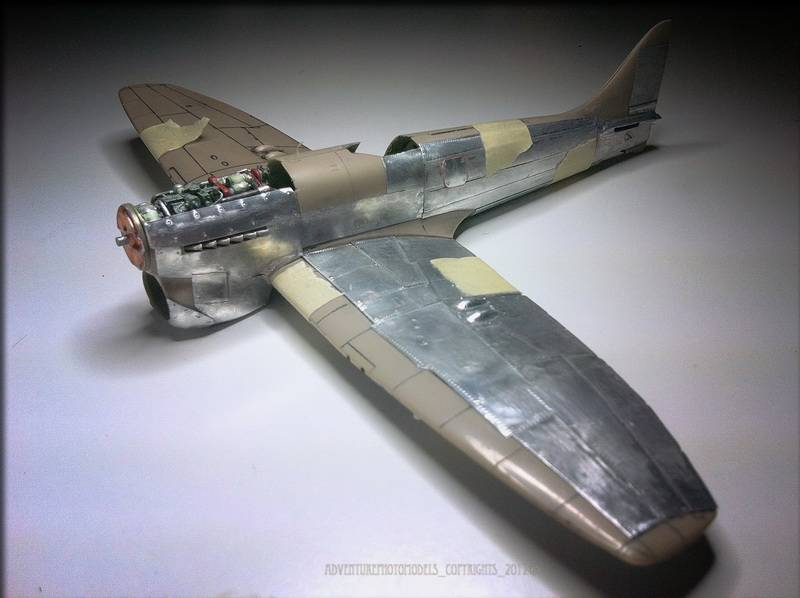Project Tempest : Hawker Tempest MkV - Eduard modelkit scale 1:48 Immagine430