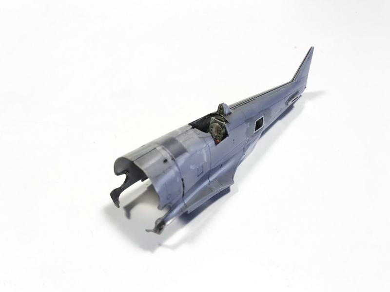 "MWP (Metal Work Panels) Project: ""Tojo"" B-29 killer IMG_2332"