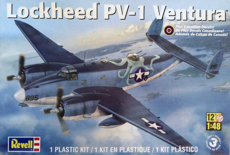 Project PV-1 Ventura:Revell kit scale 1:48 IMG_6793
