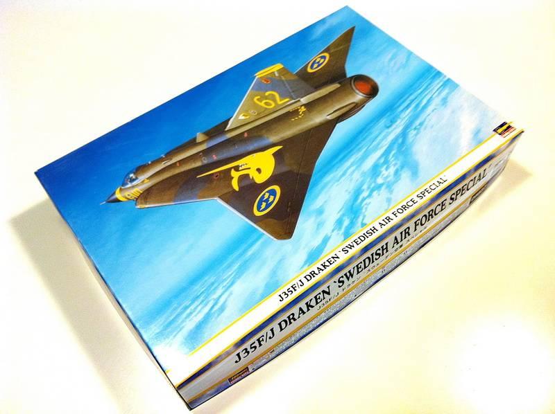 "Project Saab J35F/J - Hasegawa modelkit scale 1:48 : simply ""Draken"" IMG_1681"