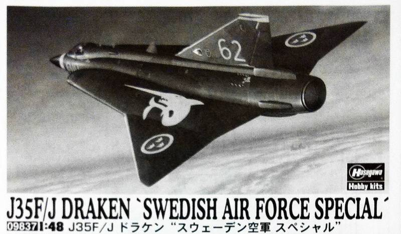 "Project Saab J35F/J - Hasegawa modelkit scale 1:48 : simply ""Draken"" IMG_1687"