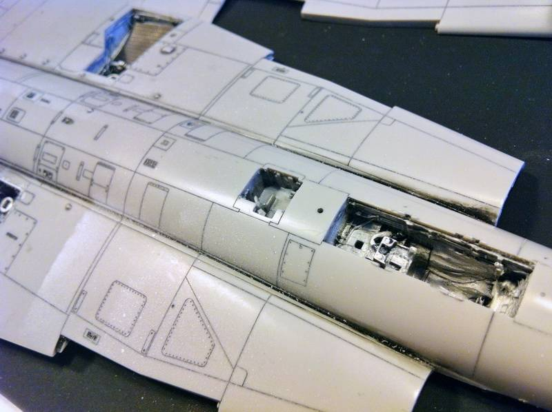 "Project Saab J35F/J - Hasegawa modelkit scale 1:48 : simply ""Draken"" IMG_5535"
