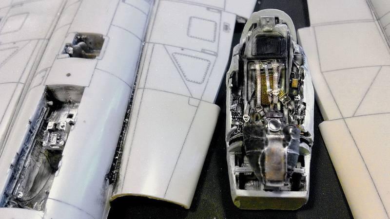"Project Saab J35F/J - Hasegawa modelkit scale 1:48 : simply ""Draken"" IMG_5549"