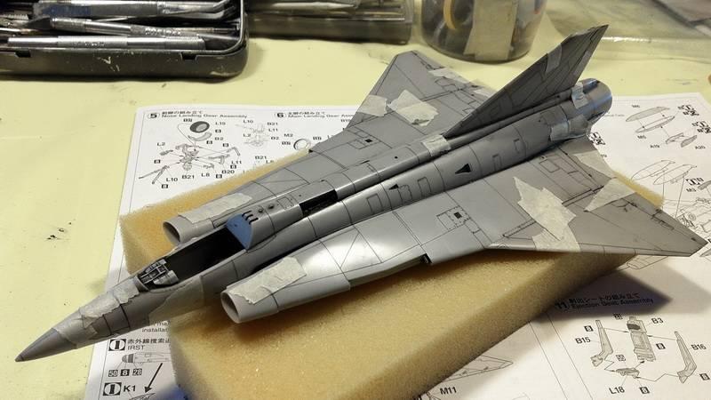 "Project Saab J35F/J - Hasegawa modelkit scale 1:48 : simply ""Draken"" Immagine015"
