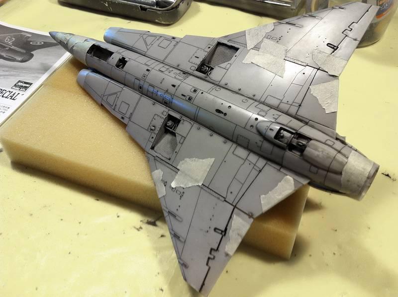 "Project Saab J35F/J - Hasegawa modelkit scale 1:48 : simply ""Draken"" Immagine017"
