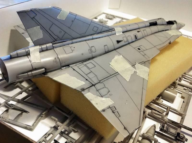 "Project Saab J35F/J - Hasegawa modelkit scale 1:48 : simply ""Draken"" Immagine019"