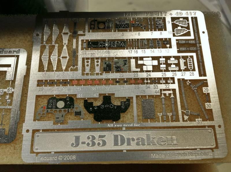 "Project Saab J35F/J - Hasegawa modelkit scale 1:48 : simply ""Draken"" Immagine021"