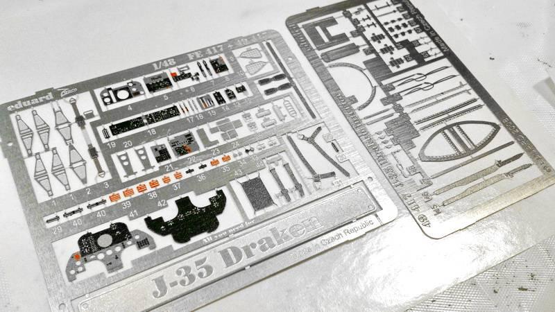 "Project Saab J35F/J - Hasegawa modelkit scale 1:48 : simply ""Draken"" Immagine027-1"