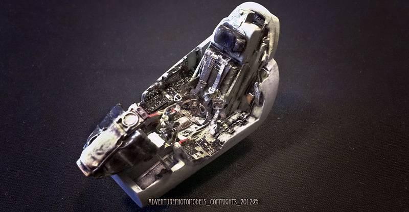 "Project Saab J35F/J - Hasegawa modelkit scale 1:48 : simply ""Draken"" Immagine064"