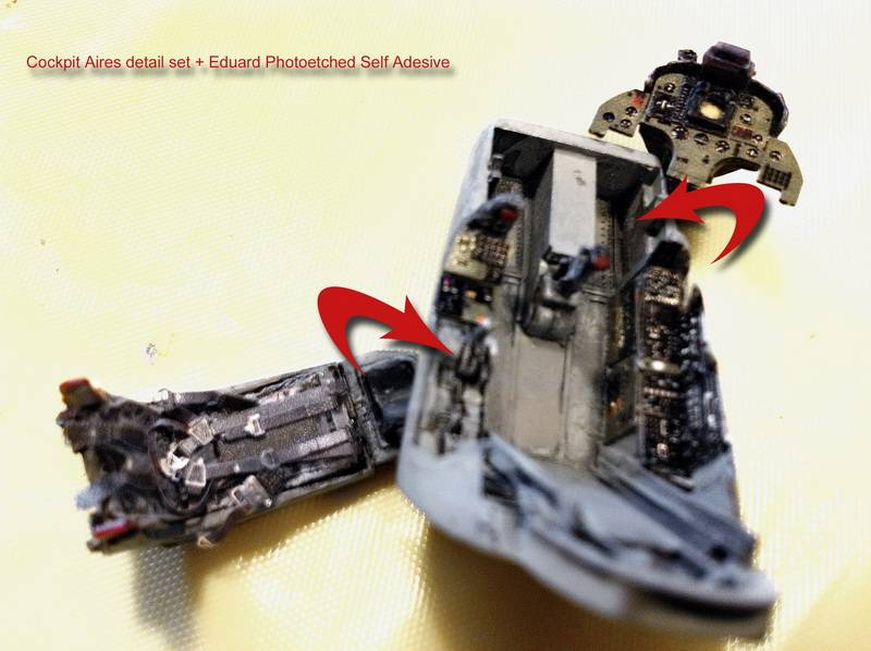 "Project Saab J35F/J - Hasegawa modelkit scale 1:48 : simply ""Draken"" Immagine071"