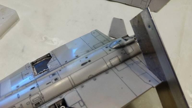 "Project Saab J35F/J - Hasegawa modelkit scale 1:48 : simply ""Draken"" Immagine086"