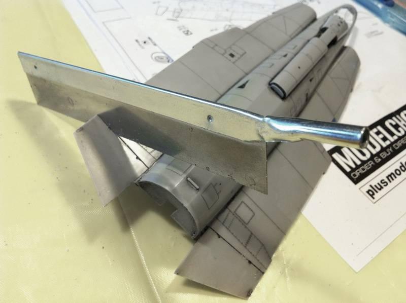 "Project Saab J35F/J - Hasegawa modelkit scale 1:48 : simply ""Draken"" Immagine087"