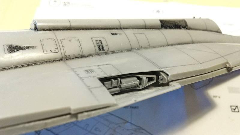 "Project Saab J35F/J - Hasegawa modelkit scale 1:48 : simply ""Draken"" Immagine093"