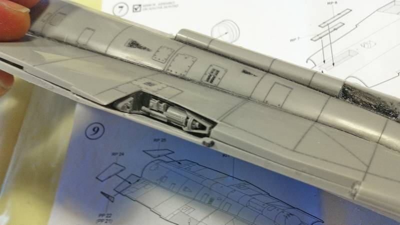 "Project Saab J35F/J - Hasegawa modelkit scale 1:48 : simply ""Draken"" Immagine094"