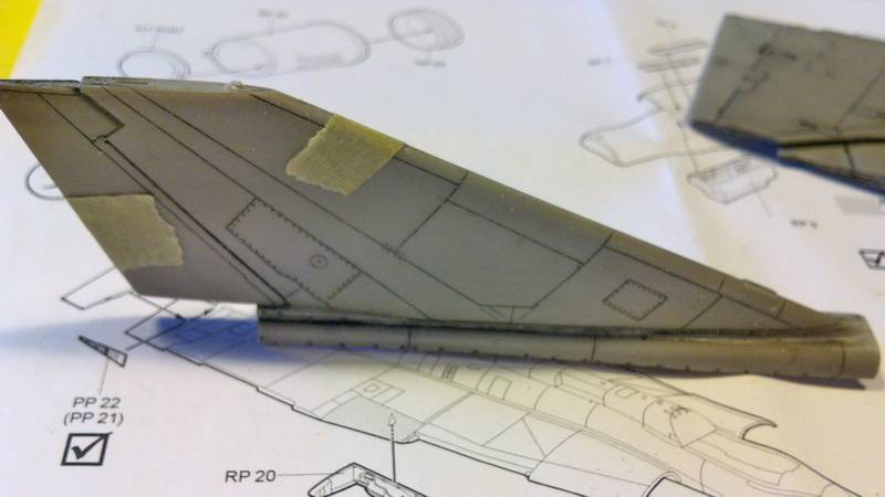 "Project Saab J35F/J - Hasegawa modelkit scale 1:48 : simply ""Draken"" Immagine096"