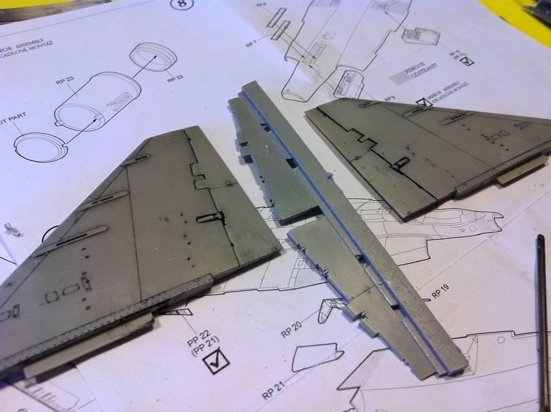 "Project Saab J35F/J - Hasegawa modelkit scale 1:48 : simply ""Draken"" Immagine101"