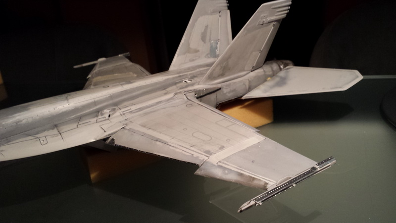 Boeing F/A - 18E Super Hornet Trumpeter kit scale 1:32 20131009_004003