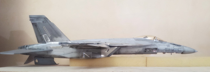 Boeing F/A - 18E Super Hornet Trumpeter kit scale 1:32 20131022_001444