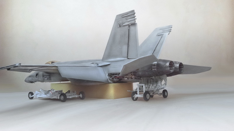 Boeing F/A - 18E Super Hornet Trumpeter kit scale 1:32 20131024_200506copy_edited-1