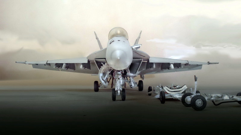 Boeing F/A - 18E Super Hornet Trumpeter kit scale 1:32 20131108_212427copy
