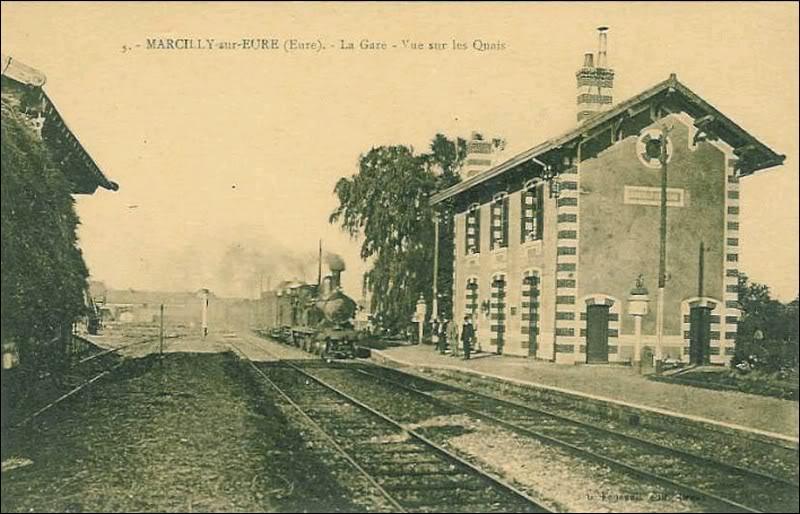 Sur l'ancienne ligne ROUEN/ORLEANS Marcilly-sur-Eure_cap1