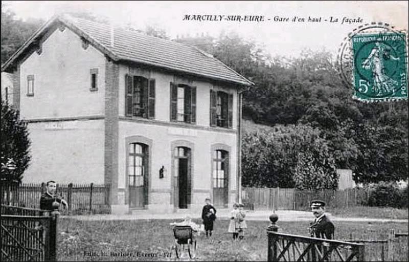 Sur l'ancienne ligne ROUEN/ORLEANS Marcilly-sur-Eure_cap2