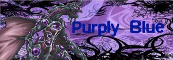 Purply Blue