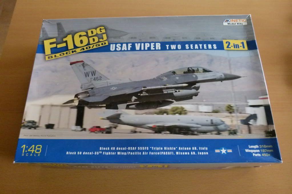 F-16D Block 50 1/48 de Kinetic Model P1010027