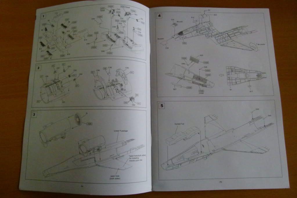 F-16D Block 50 1/48 de Kinetic Model P1010034
