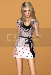 outfits by simsalia PunkteKleid