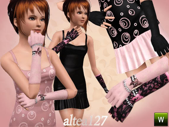 Gloves Anastasia by altea127 TSR Altea127