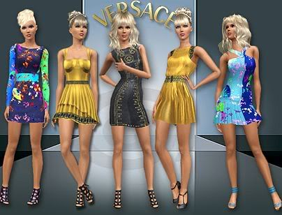 Versace dresses by Judie Sims3updates_cas_9320_M