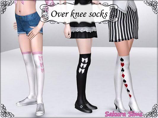 Over Knee Socks by Sakura! Sims3updates_cas_9417_M