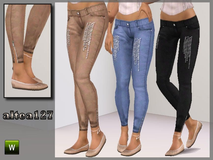 Jeans with applications by altea127 W-867h-650-1903965