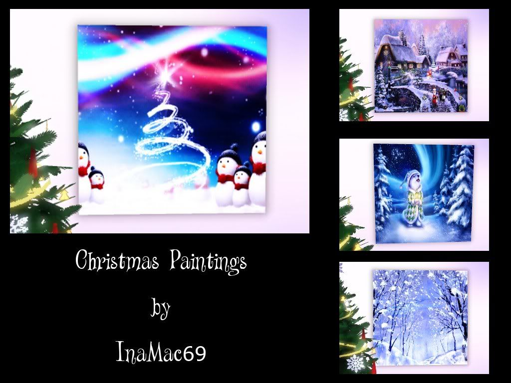 Christmas Paintings by InaMac69 Xmpi2