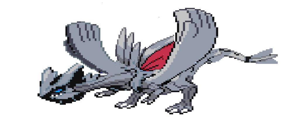 my pokemon sprite splices Hollowwind