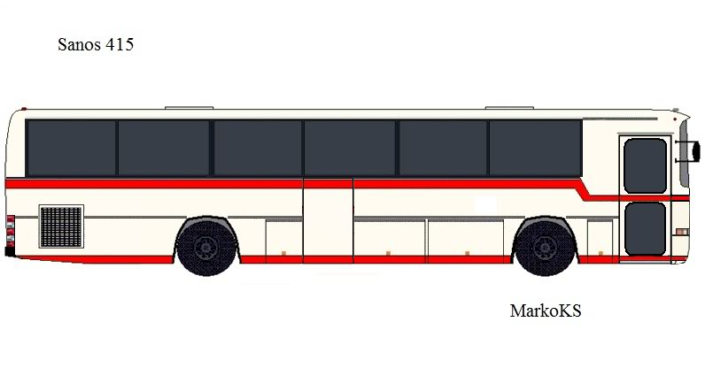 Crteži autobusa  San