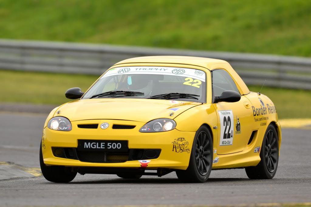 2009 MG TF Le500 race car for sale Good-1