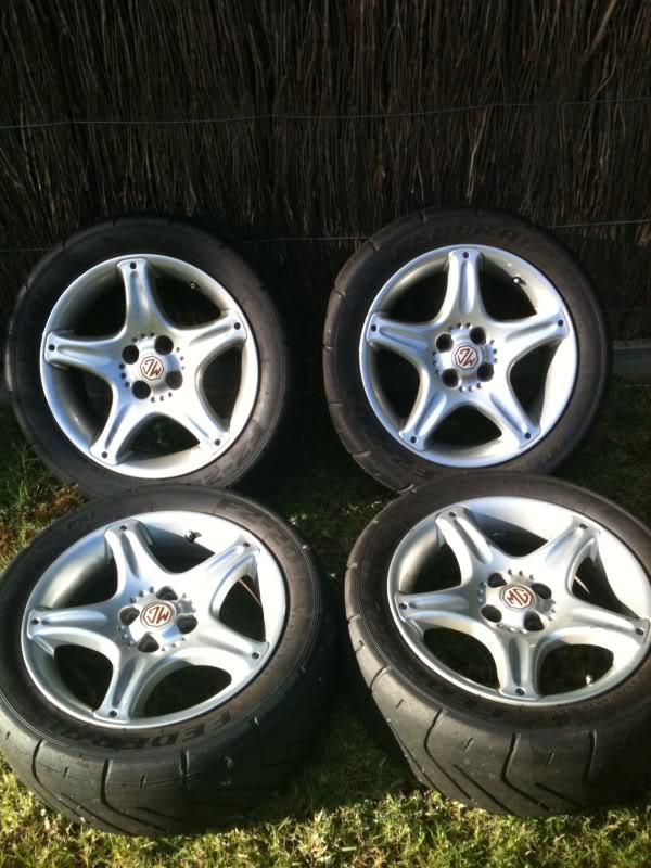 MGF 6 Spoke wheels  Photo13