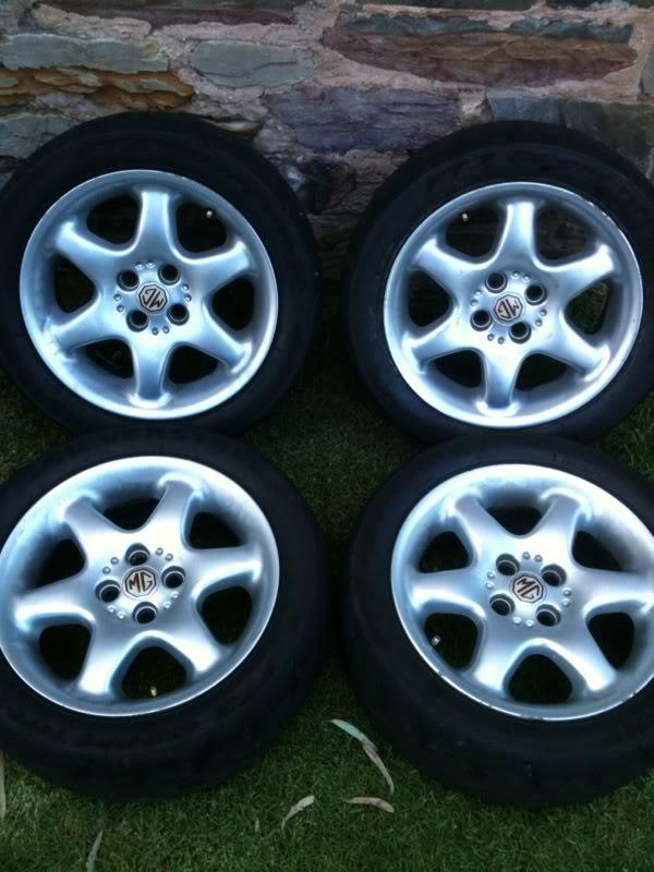 MGF 6 Spoke wheels  Photo6