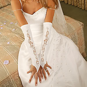 Ракавици Fingerless-bridal-gloves-2010070897