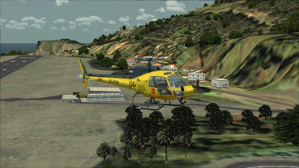 [FSX] Voando por LPSJ (Tropicalsim) LPSJ10