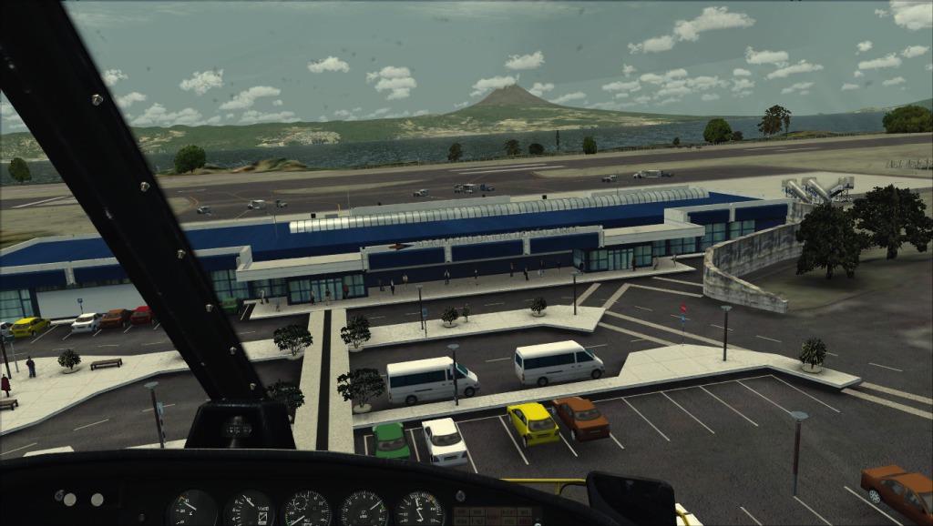 [FSX] Voando por LPSJ (Tropicalsim) LPSJ12