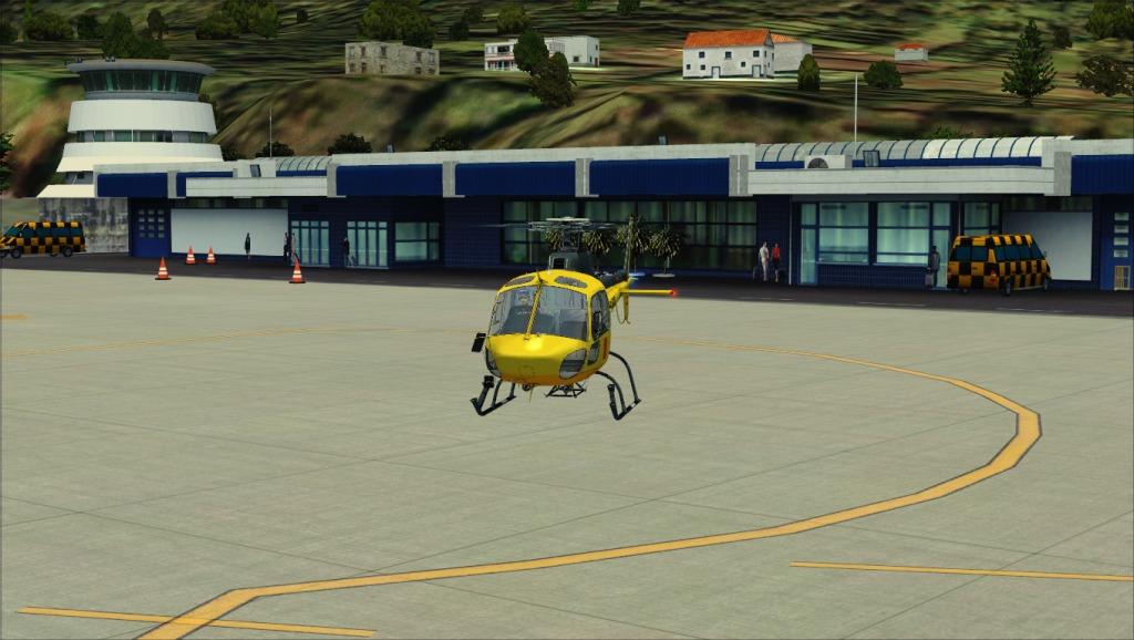 [FSX] Voando por LPSJ (Tropicalsim) LPSJ2